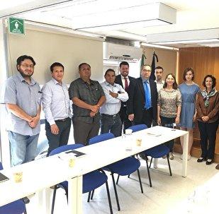 Reunión entre autoridades de la Universidad de Samara y la Universidad Nacional Autónoma de México