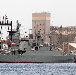 Un barco iraní (imagen referencial)