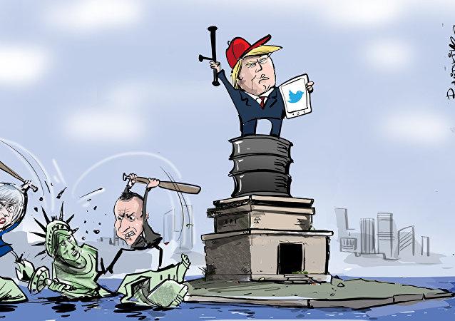 EEUU y sus aliados violan sus propios principios