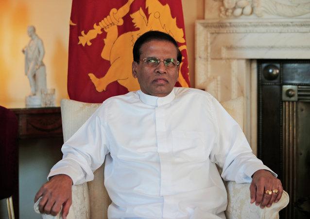 Maithripala Sirisena, presidente de Sri Lanka