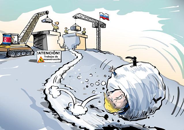Trabajos de reconstrucción: Putin y Kim corrigen los errores de EEUU