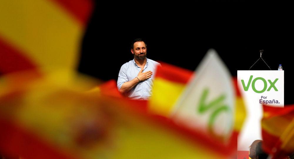 Santiago Abascal, lider del partido Vox