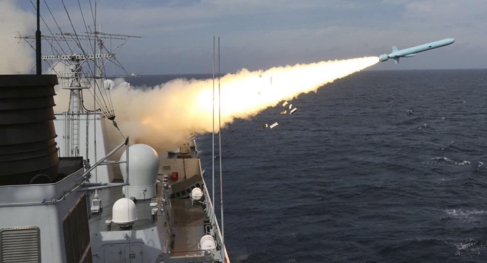 El lanzamiento de misiles en China