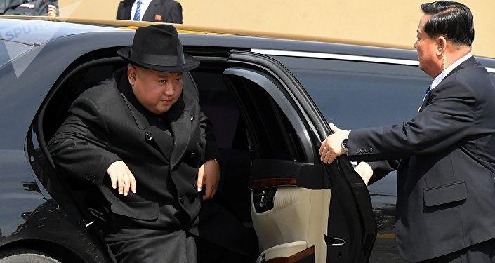 El líder norcoreano, Kim Jong-un, durante su visita a Vladivostok (Rusia)