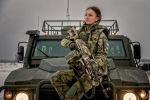 La comandante de policía Ekaterina Ermakova, Moscú