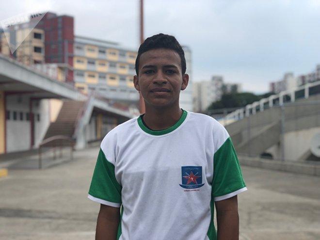 La violencia y la delincuencia en la periferia de Caracas le costaron la vida al hermano de Leo, pero el deporte sirve de vía de escapatoria para que la situación no se perpetúe