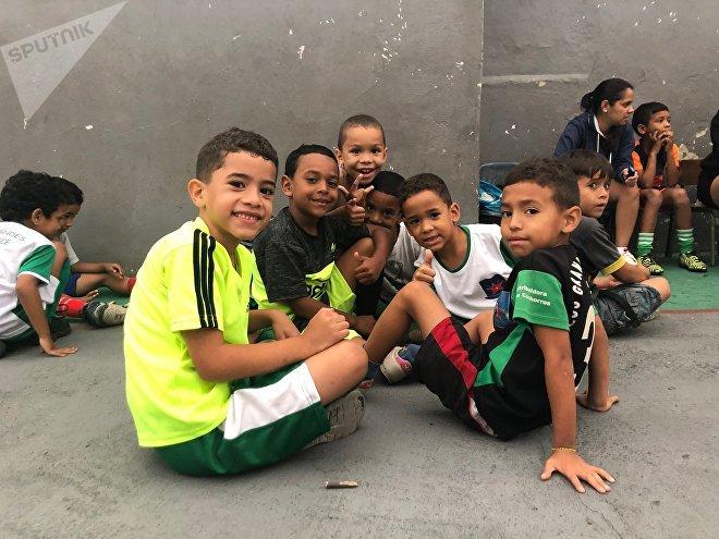 Lídice, en las faldas del cerro Ávila, es el escenario de este proyecto deportivo y educativo que abarca a jóvenes de todas las edades