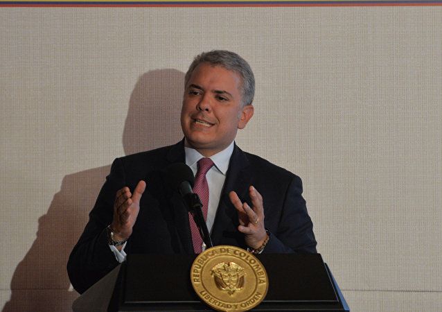 Iván Duque, presidente de Colombia (archivo)