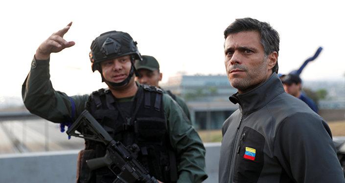 El líder opositor venezolano, Leopoldo López