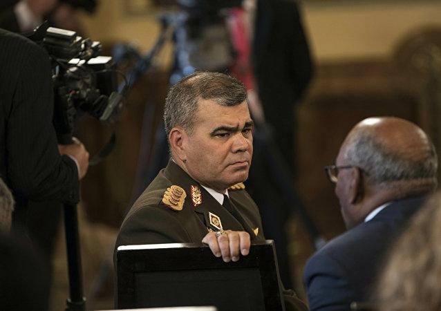 Vladimir Padrino López, ministro de Defensa de Venezuela (archivo)