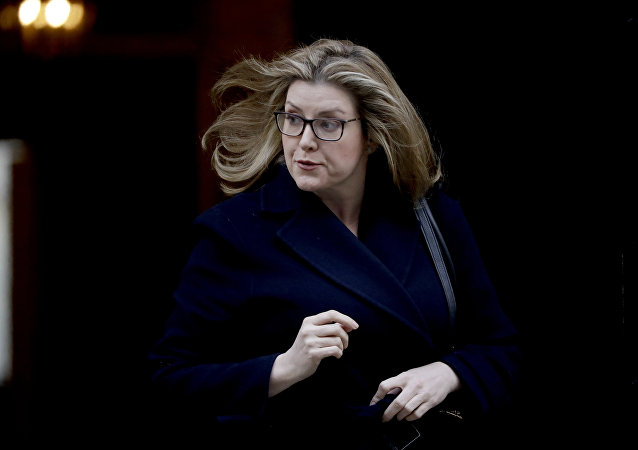 Penny Mordaunt, ministra de Defensa del Reino Unido