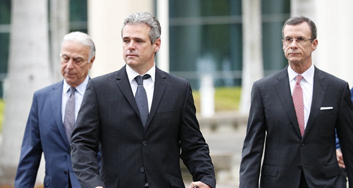 El cubano Mickael Behn, el primer demandante de la ley Helms Burton