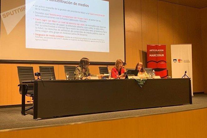 Seminario Amenazas a la Libertad de Expresión, realizado en Montevideo por el Día Mundial de la Libertad de Prensa
