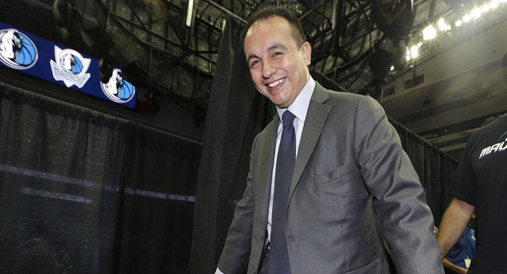 Gersson Rosas, presidente de los Minnesota Timberwolves