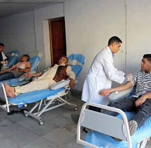 Situación en un hospital en Libia