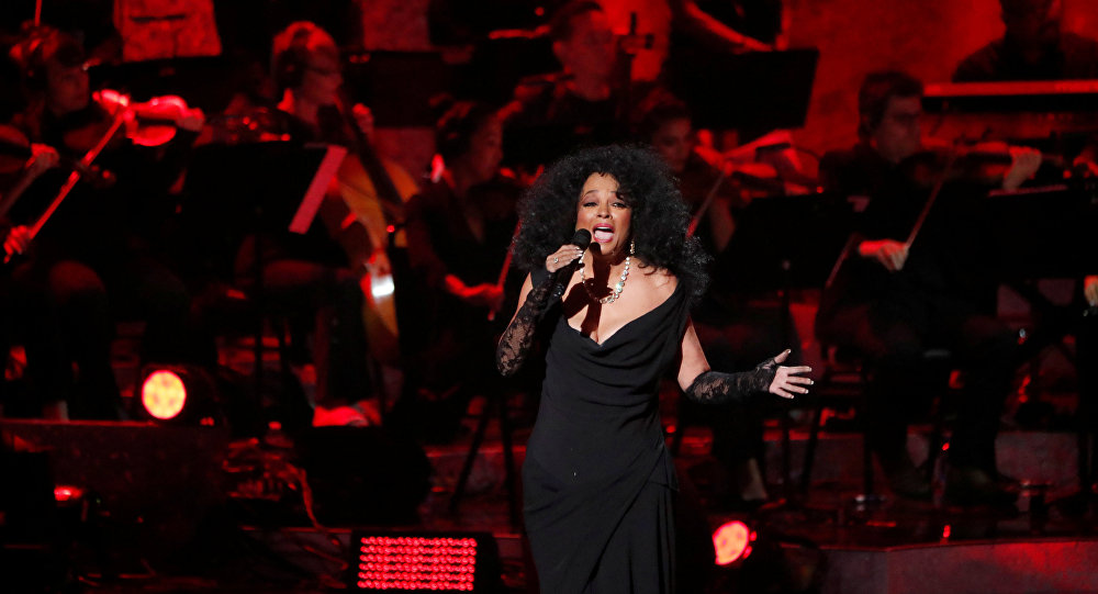 Diana Ross, cantante estadounidense