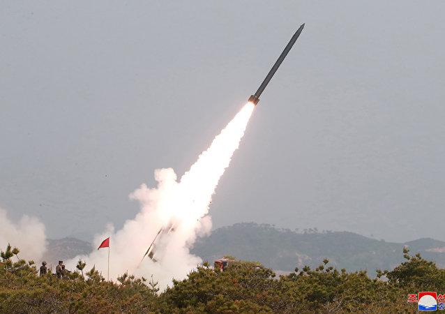Lanzamientos de cohetes de Corea del Norte