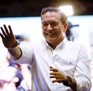 Laurentino Cortizo, ganador de las elecciones presidenciales en Panamá