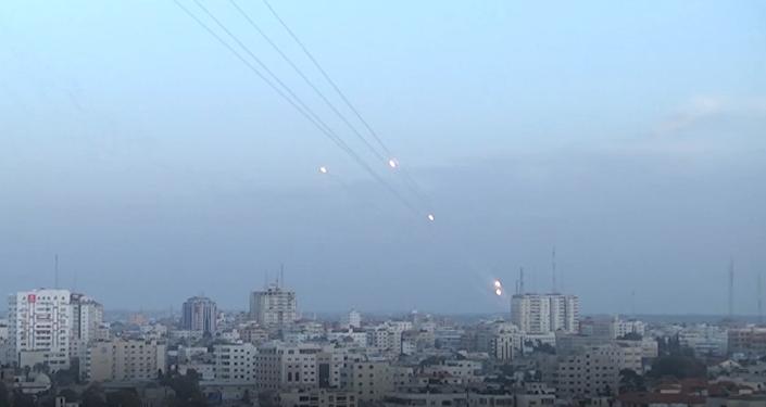 Los mortales enfrentamientos entre palestinos e israelíes desde el aire