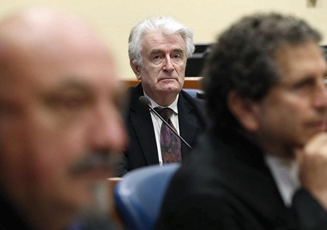 Radovan Karadzic, expresidente de la República Srpska (archivo)