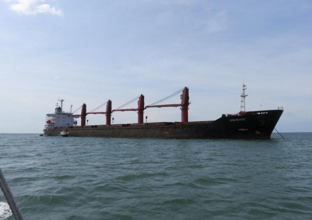 El barco de Corea del Norte Wise Honest (archivo)