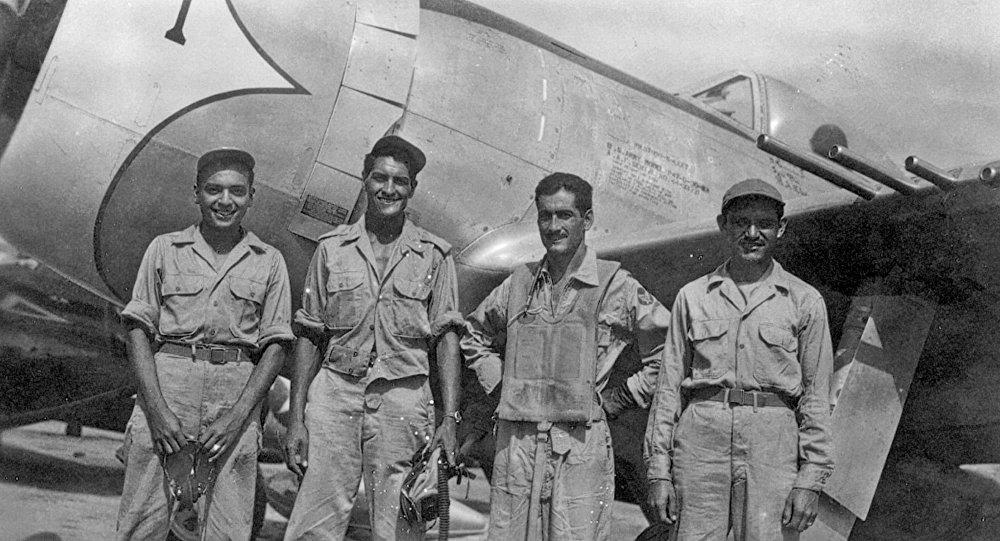 Miembros del Escuadrón 201, los mexicanos que fueron a combatir al frente del Pacífico en la Segunda Guerra Mundial
