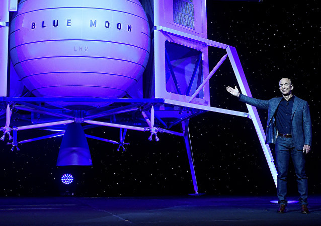 Jeff Bezos, fundador de Blue Origin