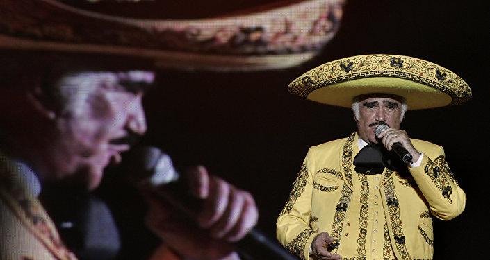 Cantante mexicano Vicente Fernández