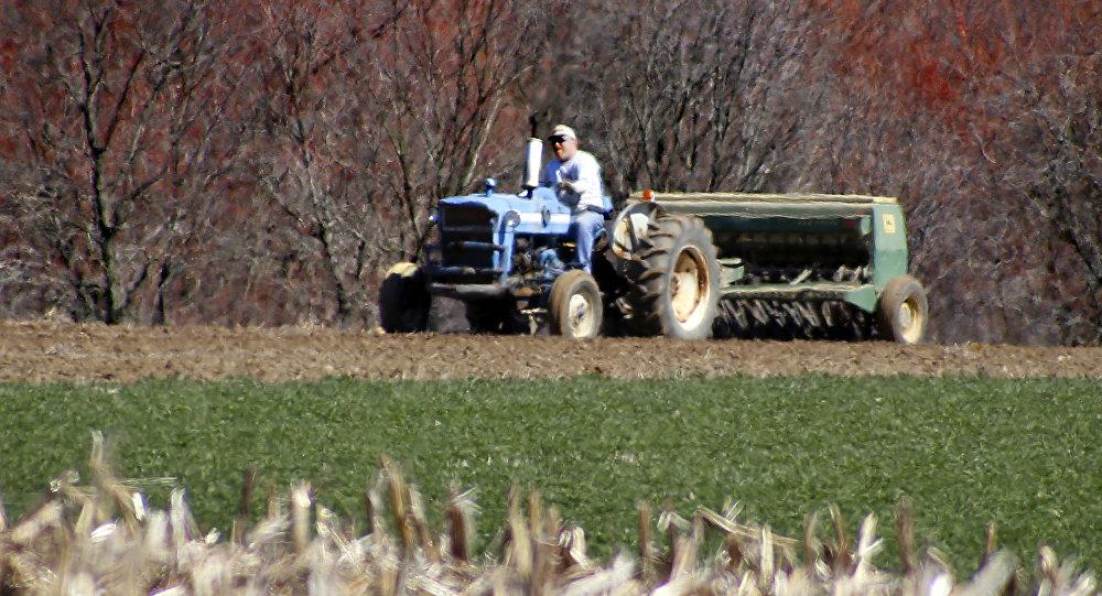 Un granjero estadounidense