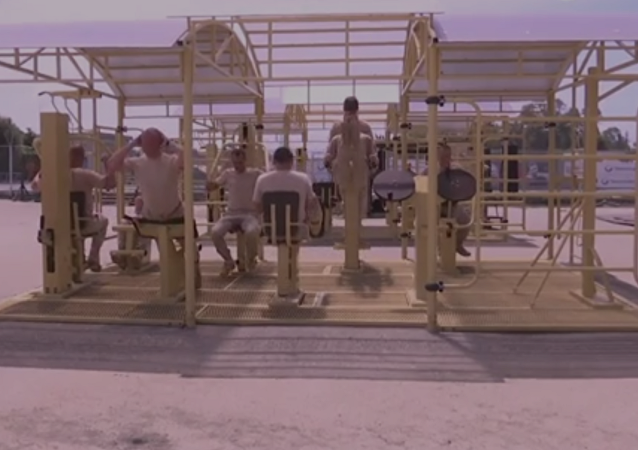 Militares rusos enseñan cómo es la base aérea de Hmeymim por dentro