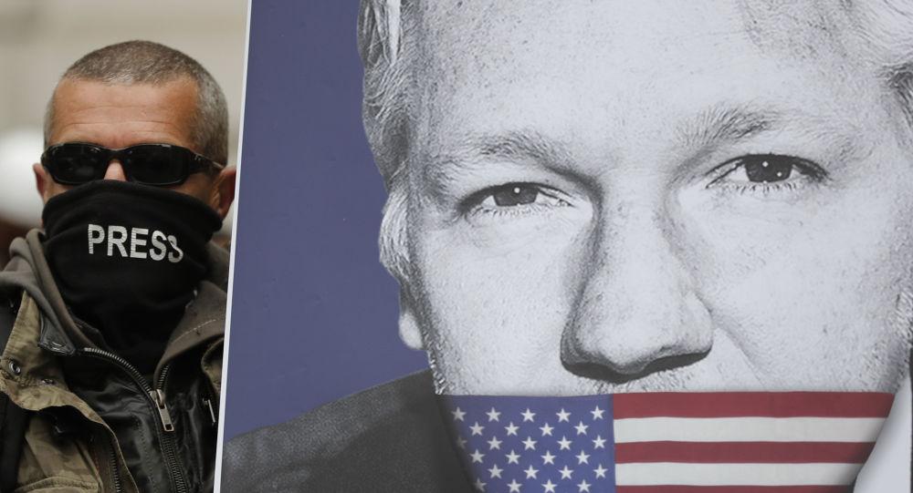 El retrato de Julian Assange