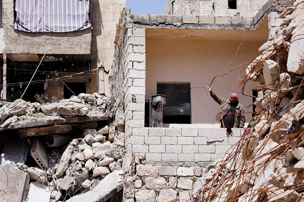 Alepo tras la guerra en Siria
