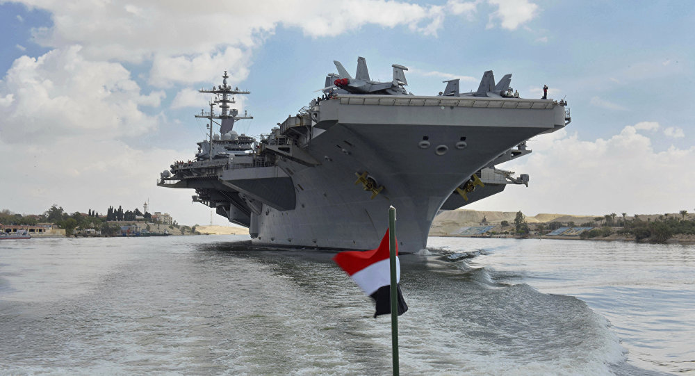 El USS Abraham Lincoln