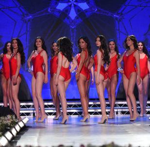 Участницы конкурса Национальный конкурс красоты: Красавица Армении в Ереване