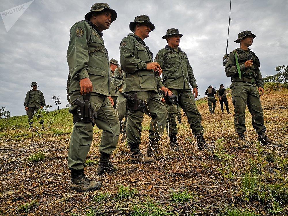 Los autoridades de la Universidad Militar Bolivariana de Venezuela