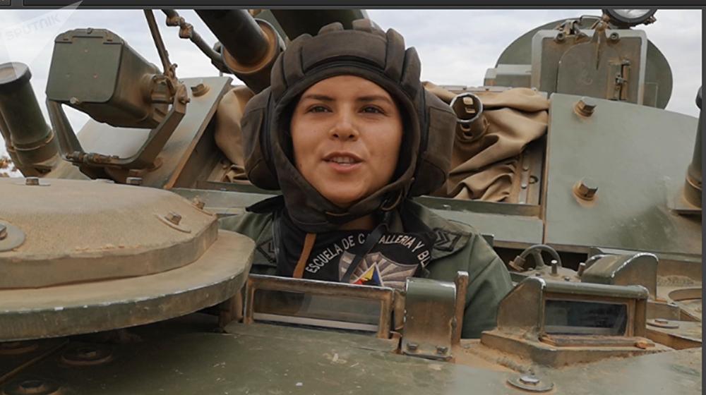 La sargento primero Ivonne Peralta