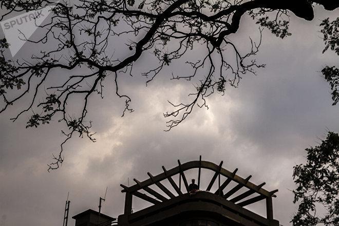 Vecinos del edificio Trevi en evento contra la gentrificación de la Ciudad de México