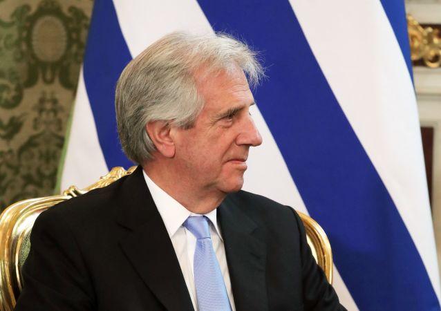El presidente de Uruguay, Tabaré Vázquez (archivo)