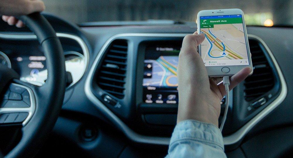 Un navegador GPS