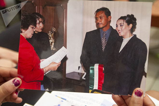 Torreón, Coahuila: Fotografía de la boda entre Claudia e Isaías Uribe Hernández, veterinario desaparecido por el Ejército mexicano el 5 de abril de 2009 en Torreón