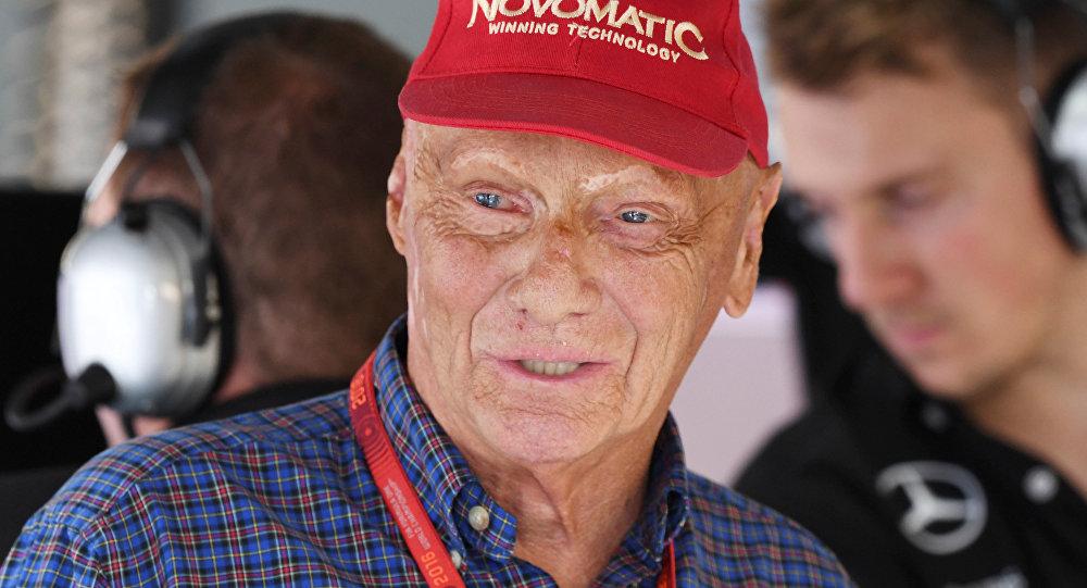 Niki Lauda, piloto austriaco
