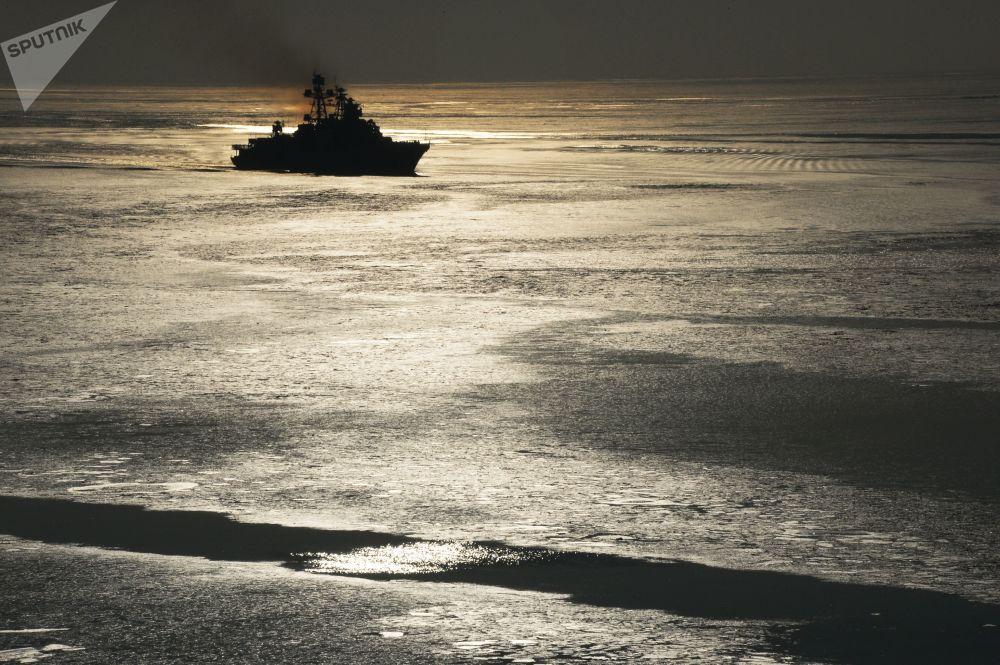 Rusia celebra el Día de la Flota del Pacífico
