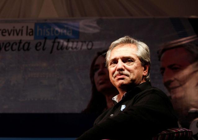 El exjefe de gabinete argentino Alberto Fernández, precandidato a la presidencia