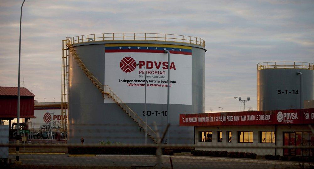 Un complejo petrolero de PDVSA en Venezuela