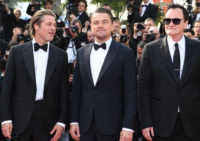 El festival de Cannes, Brad Pitt, Leonardo Di Caprio, Quentin Tarantino