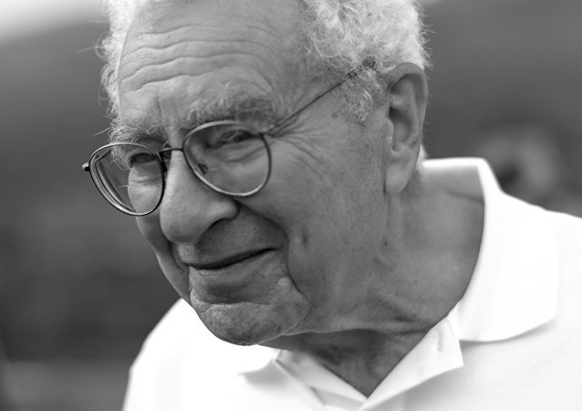 El físico estadounidense Murray Gell-Mann