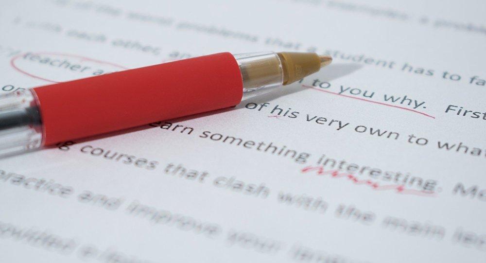 Un bolígrafo, imagen referencial