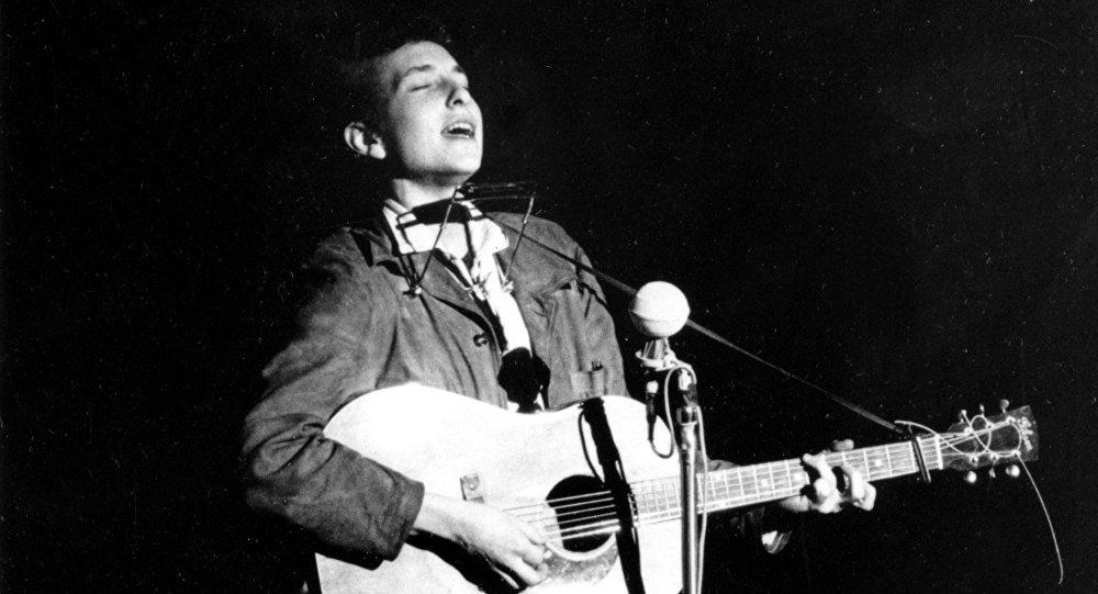 Bob Dylan, cantautor estadounidense