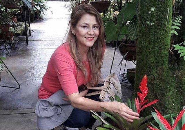 Yolanda Gárate Mori, testigo del terremoto en Perú