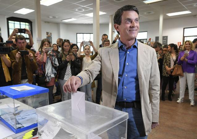 El ex primer ministro francés, Manuel Valls